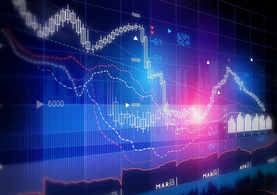 גרפים בתצוגה דיגיטלית של אגרות חוב
