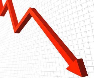 גרף שמראה דיפלציה