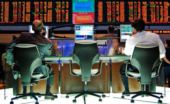 יום האקס - בבורסה