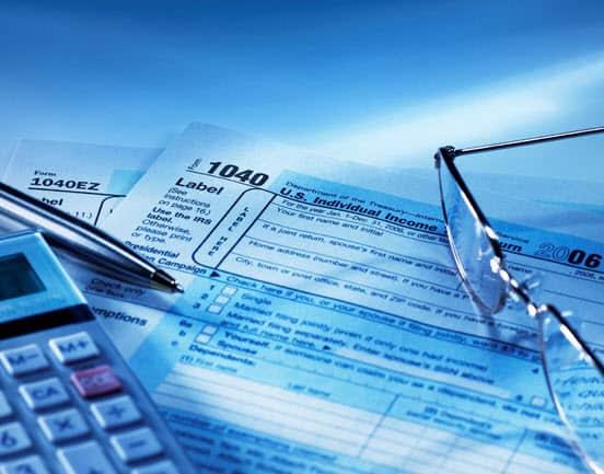 תמונת אווירה למיסים